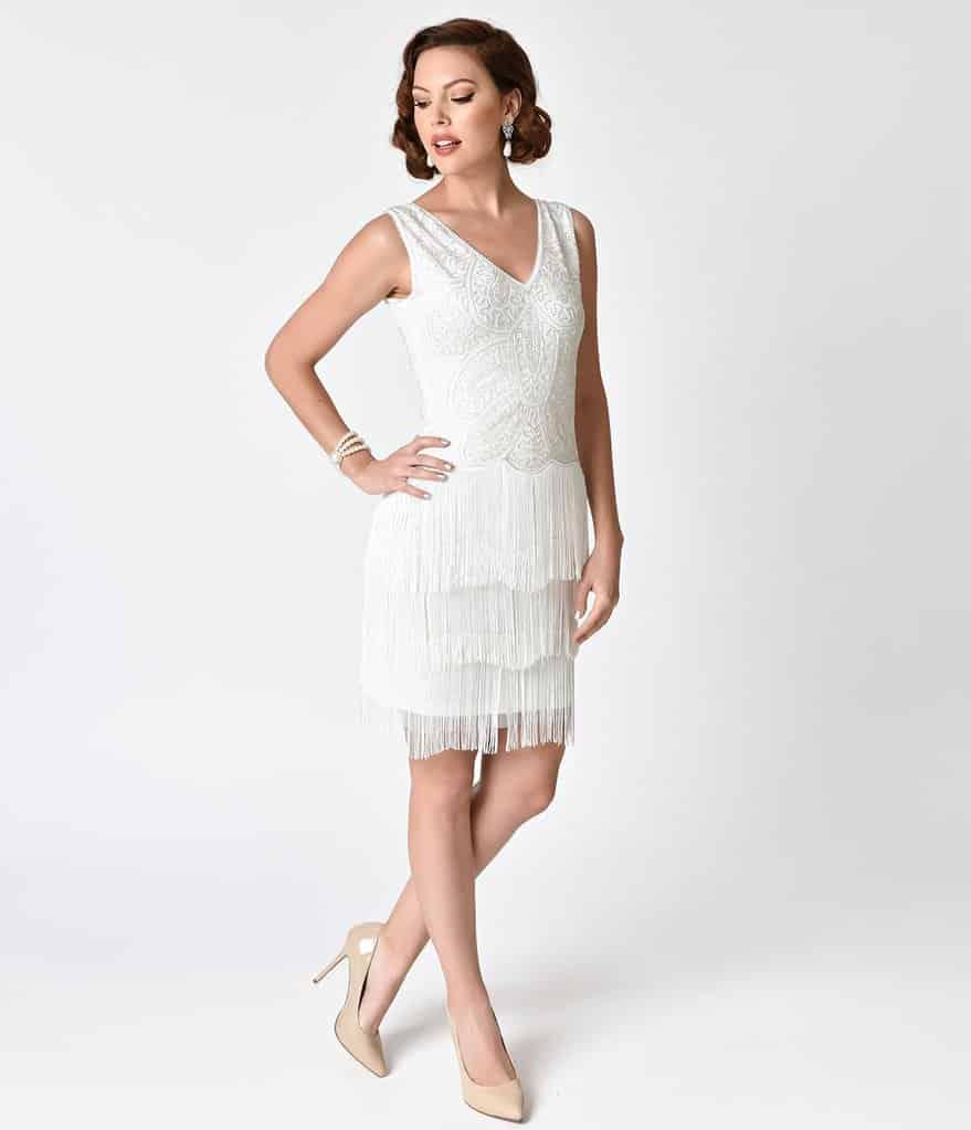 Flapper Wedding Dress Styles