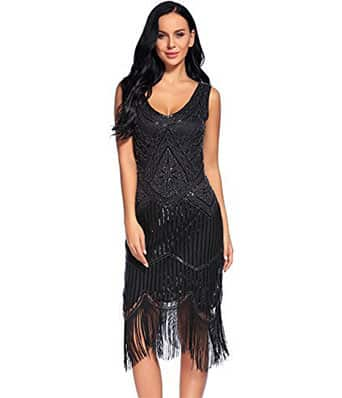 Great Gatsby Themed Party Dresses [ Flapper Dresses ]