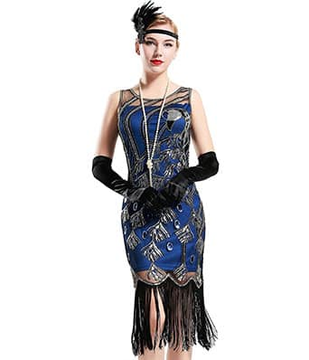 what does a flapper dress look like?
