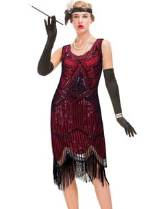 447100014b4 1920s Great Gatsby Prom Dresses   2019   • Gatsby Flapper Girl