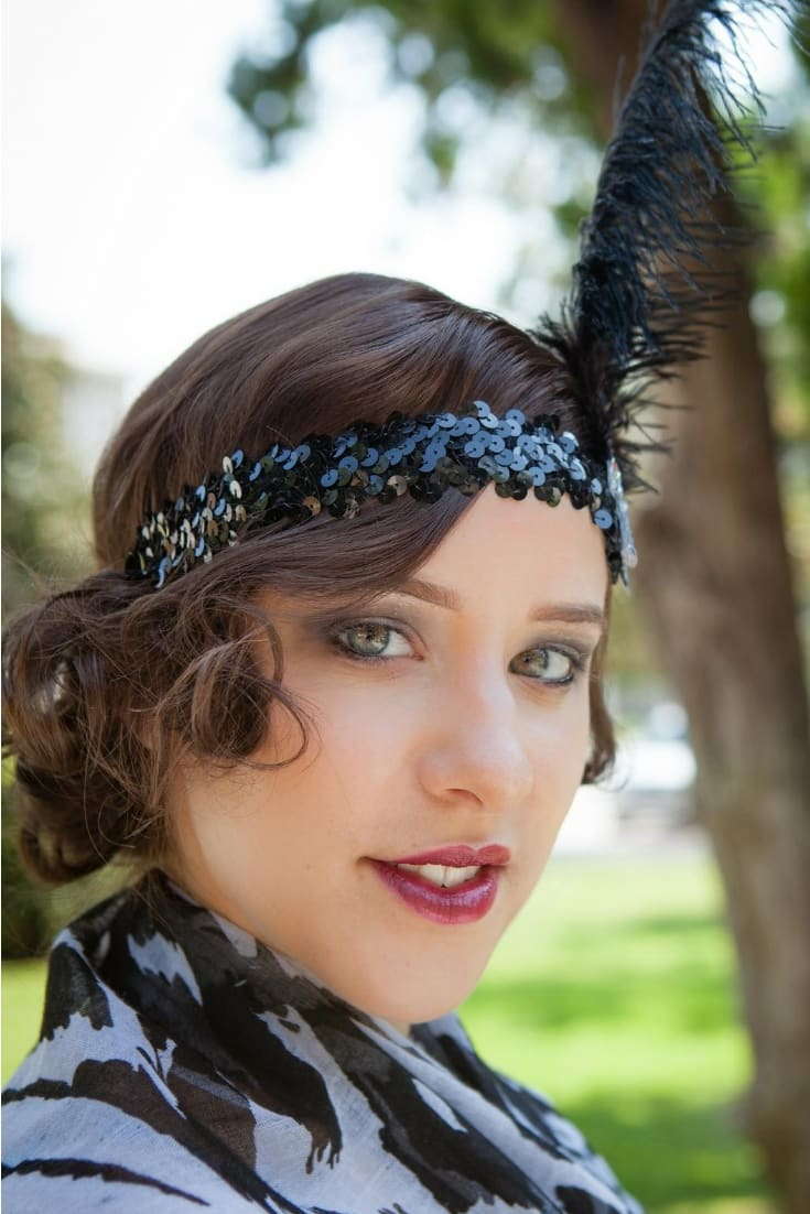 flapper costume or gatsby dress 1920s sytyle