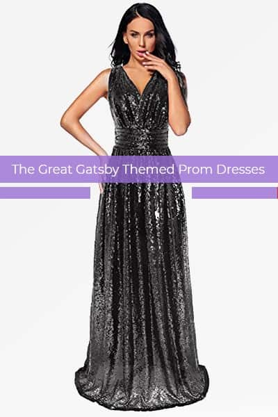 The Great Gatsby Themed Prom Dresses