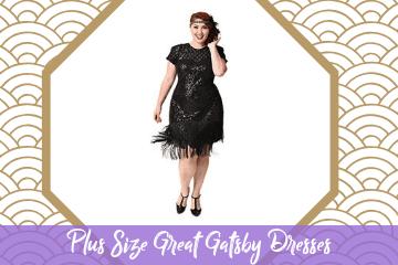 Plus Size Great Gatsby Dresses