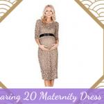 Roaring 20 Maternity Dresses