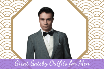Great Gatsby Outfits For Men • 1920s Great Gatsby Outfits