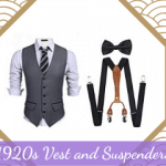 1920s Vest and Suspenders