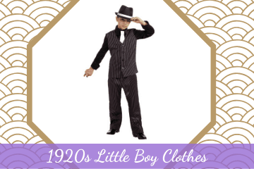 1920s Little Boy Clothes