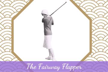 Edith Cummings Fairway Flapper