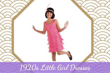 1920s Little Girl Dresses