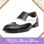 1920's Mens Shoes Styles