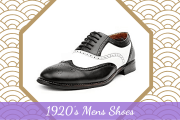 Popular Gatsby 1920's Mens Shoes Styles