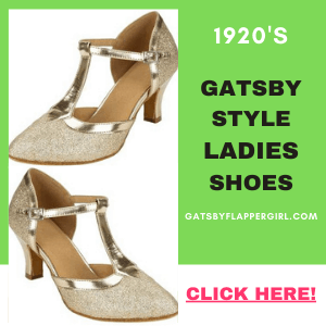 1920s shoes for ladies