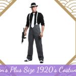 Men's Plus Size 1920's Costumes Ideas