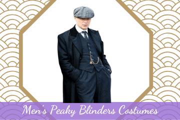 mens Peaky Blinder Halloween costumes