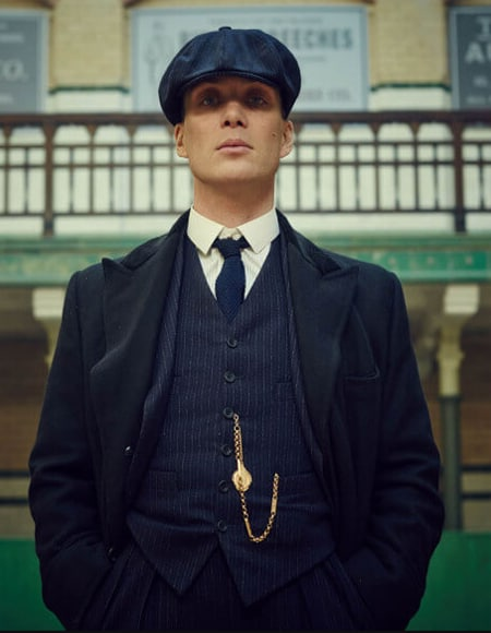 thom shelby member of peaky blinders gang