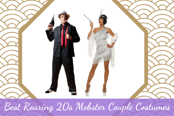 Best Roaring 20s Mobster Couple Costumes