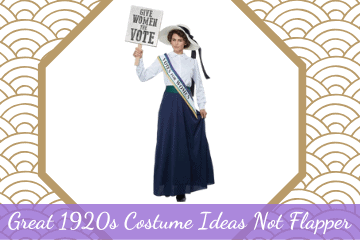 Great 1920s Costume Ideas Not Flapper