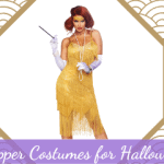 Flapper Costumes for Halloween & Parties