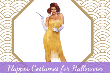 17 Gorgeous Flapper Costumes for Halloween