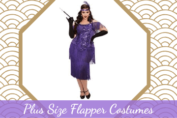 Flattering Plus Size Flapper Costumes