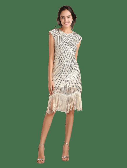 teenage flapper dress