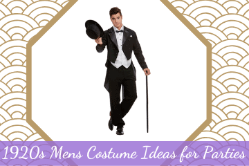 1920s Mens Costume Ideas For Parties and Halloween
