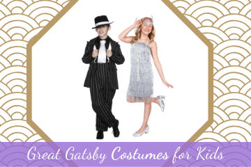 Great Gatsby Costumes for Kids | Perfect for Parties & Halloween