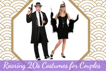 Roaring 20s Costumes for Couples That Dazzle!