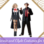 Sexy Bonnie and Clyde Costumes for Couples