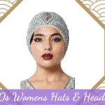 1920s Womens Hats & Headwear