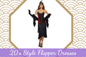 20's Style Flapper Dresses
