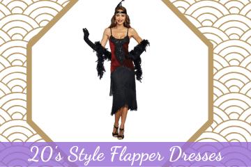 20's Style Flapper Dresses