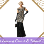 1920s Evening Gowns & Formal Dresses