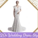 1920s Wedding Dress Styles