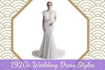 Stunning 1920s Wedding Dress Styles