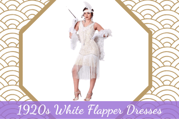 1920s White Flapper Dresses - Stunning Great Gatsby Styles