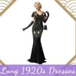 Long 1920s Dresses