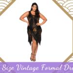 Plus Size Vintage Formal Dresses
