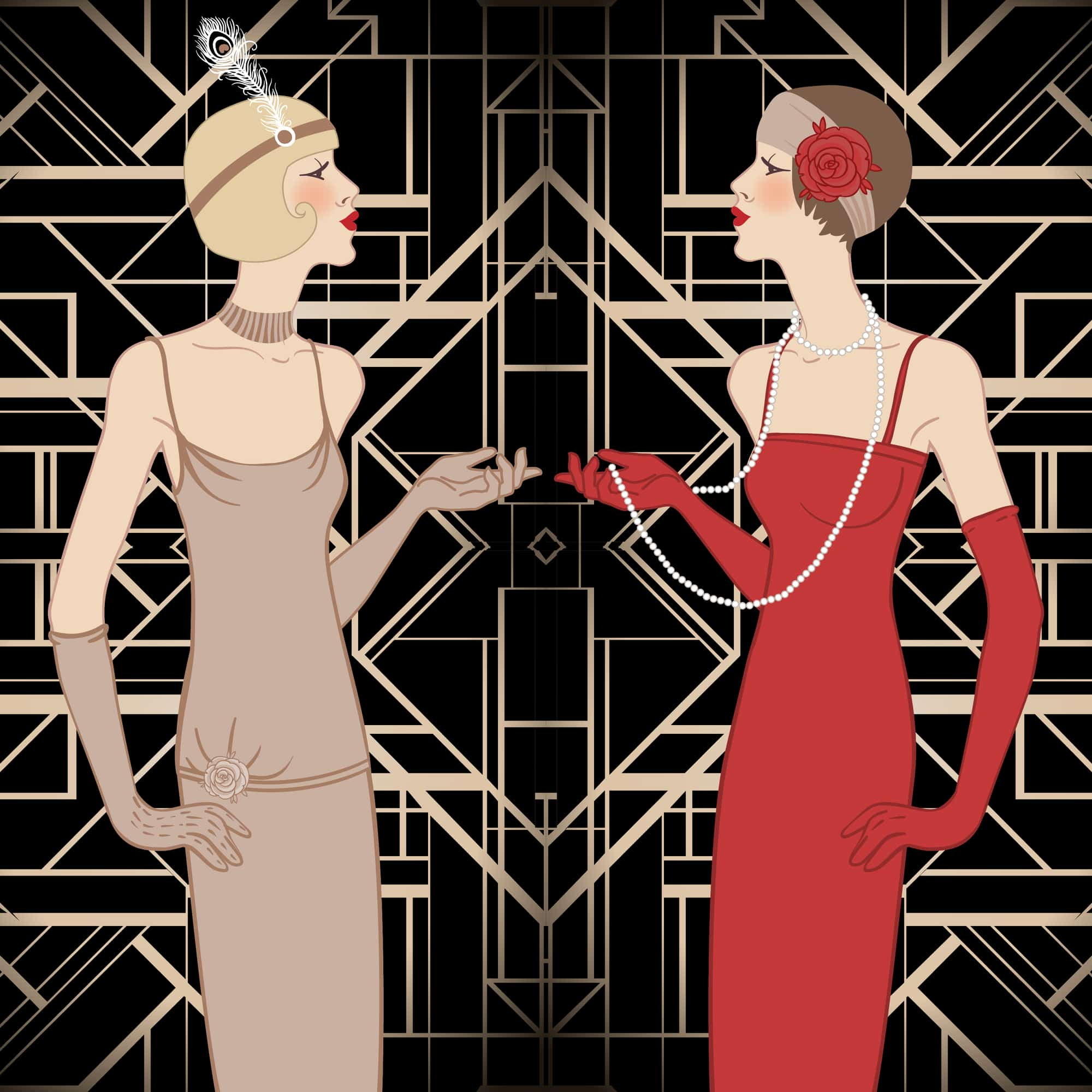 Myrtle and Daisy from The Great Gatsby