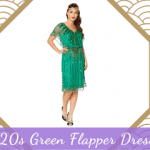 1920s Green Flapper Dresses