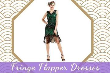 Fringe Flapper Dresses